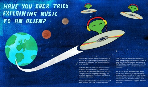 Explain Music to an Alien
