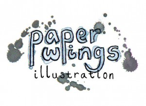 Paper Wings Illustration