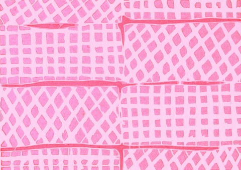 Pink Wafers