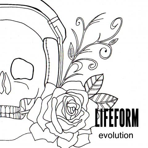 Skull Rose CD Design