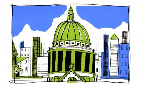 St Pauls Illustration